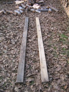 Build a Firewood Rack Step 1