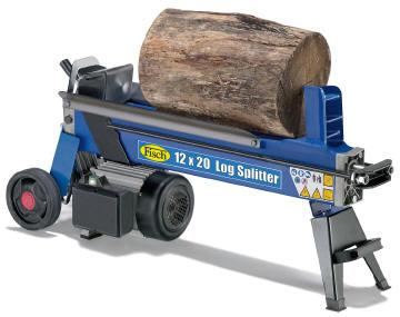 fisch electric log splitter