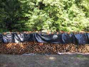 firewood tarp