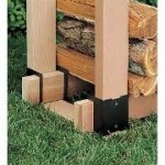 Firewood Rack Brackets