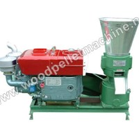 Diesel Wood Pellet Machine