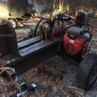 30 Ton Custom Log Splitter